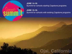 Thacher capstone summit