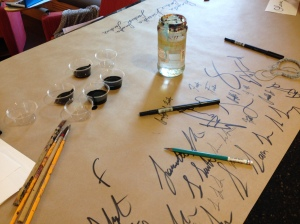 Practice signatures
