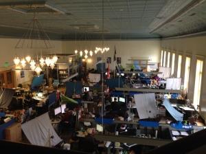 Sarah's internship site, Troy, NY